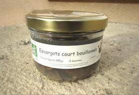 Escargots court-bouillonnés (3 douzaines)