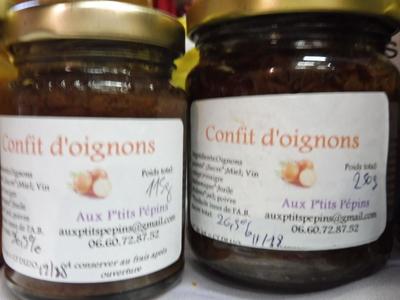 Confit d'oignons (250g)
