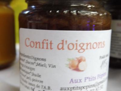 Confit d'oignons (115g)