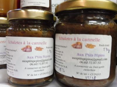 Échalotes à la Cannelle ( chutney ou confit) (115g)