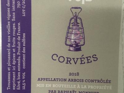 Trousseau Les Corvées - Vieilles vignes - 2018