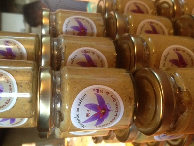 Moutarde au safran (90g)