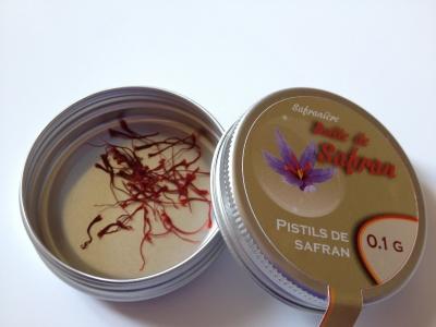 Pistils de safran 0,1 gramme
