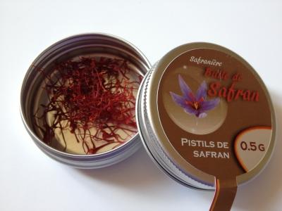 Pistils de safran 0,5 gramme