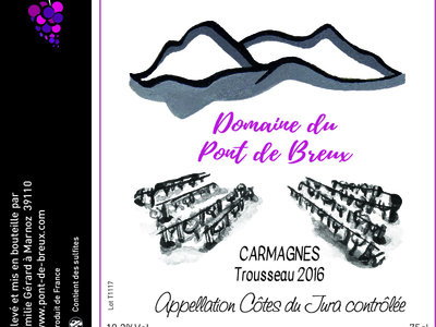 Trousseau Carmagnes 2016