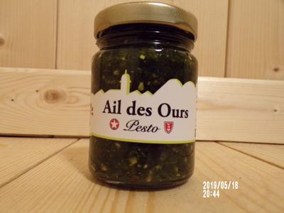 Pesto Ail des Ours 100gr