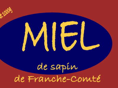 MIEL DE SAPIN certifié AB, 1KG.