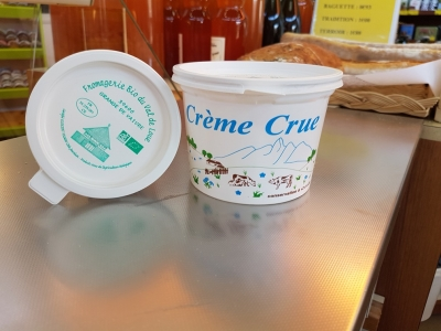 Matière grasse issue de lactosérum 50cl(crème)