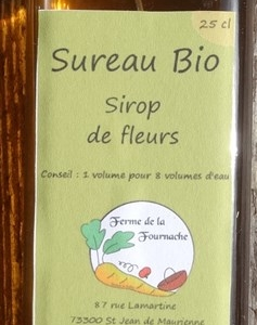 Sirop de fleurs de sureau 25 cl