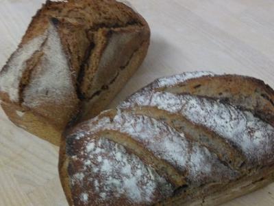 Ardéchois (pain à la châtaigne et farine Bise) – 1,2 kg