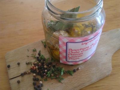 """nn-bouchons de fromage pour salade """" à l'huile d'olive bio"""" saveur nature """"."""