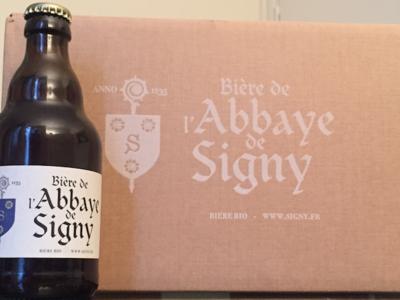 Bière de l'Abbaye de Signy - 1 caisse de 12 bouteilles de 33cl