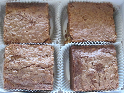 Brownie aux noix bio lot de 4 parts