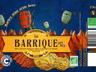 Bière LA BARRIQUE 10° 75cl