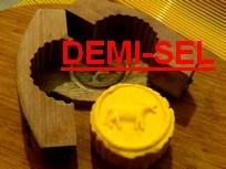 Beurre de baratte demi-sel au lait cru - motte de 125 grs environ