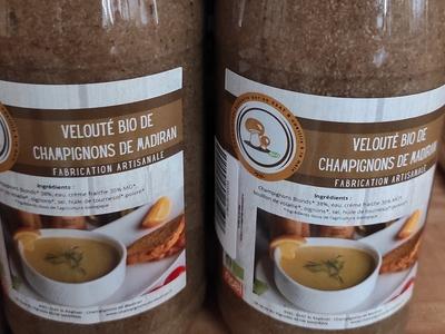 Velouté de champignons de Madiran bouteille de 720ml