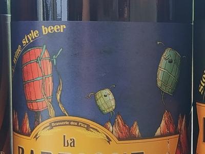 """Bière La Nestoise """" LA BARRIQUE DES PICS A 10° """" 75cl (Barley wine style beer)"""