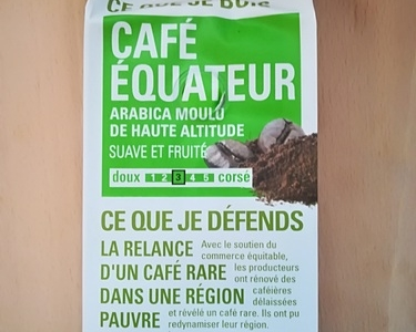 Café arabica moulu
