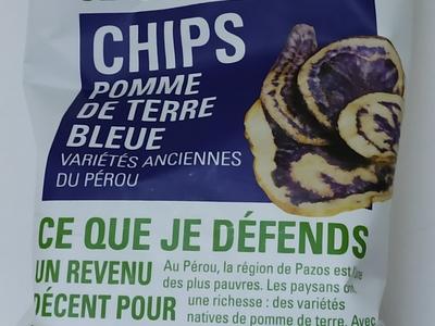 Chips Pommes de Terre Bleue