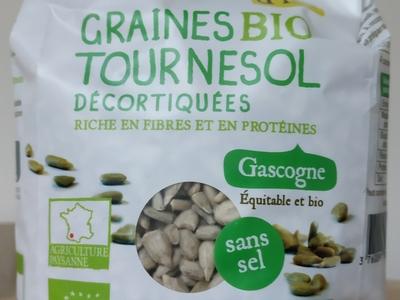 Graines de Tournesol décortiquées sans sel