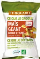 Maïs Géant Grillé et salé du pérou pot de 100g