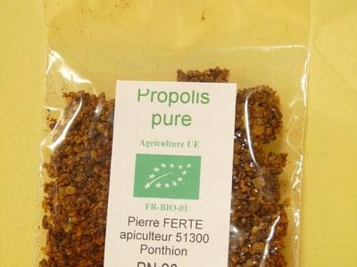 propolis pure à macher 20g