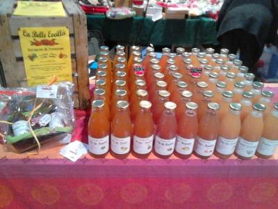 Carton de 6 bouteilles de jus de pomme