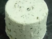 Cabriole - dôme de chèvre frais au lait cru (AB) - à l'ail des ours