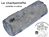 Charbonnette - bûche de chèvre demi-sèche cendrée au lait cru (AB)