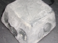Rousti - pyramide de chèvre cendrée au lait cru (AB) - DEMI-SECHE