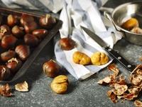 Châtaignes CONGELEES épluchées : Sardonne  ramassée en Ardèche