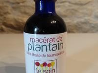 Macérat huileux de plantain (huile de tournesol)