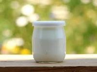zz- Yaourt nature  entier ( pot en verre )