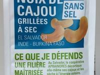 Noix de Cajou grillées à sec sans sel