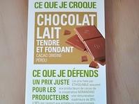 Tablette de chocolat au Lait tendre et fondant