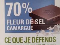 Tablette de chocolat Caramel pointe de Sel 100g