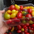 tomate cerise en mélange, la barquette